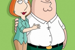 FAMILY GUY: Lois and Peter Griffin on THE FAMILY GUY on FOX.  ™©2006FAMILY GUY & TCFFC ALL RIGHTS RESERVED.  ©FOX BROADCASTING  CR:FOX