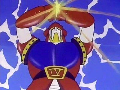 Astrorobot contatto Y – Quattro supereroi