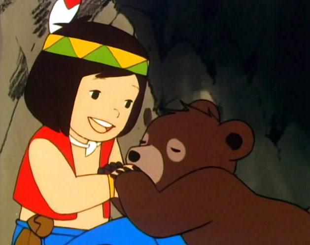 Jacky l'orso del monte Tallac