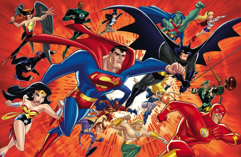 Supereroi dei Cartoni Animati e Fumetti