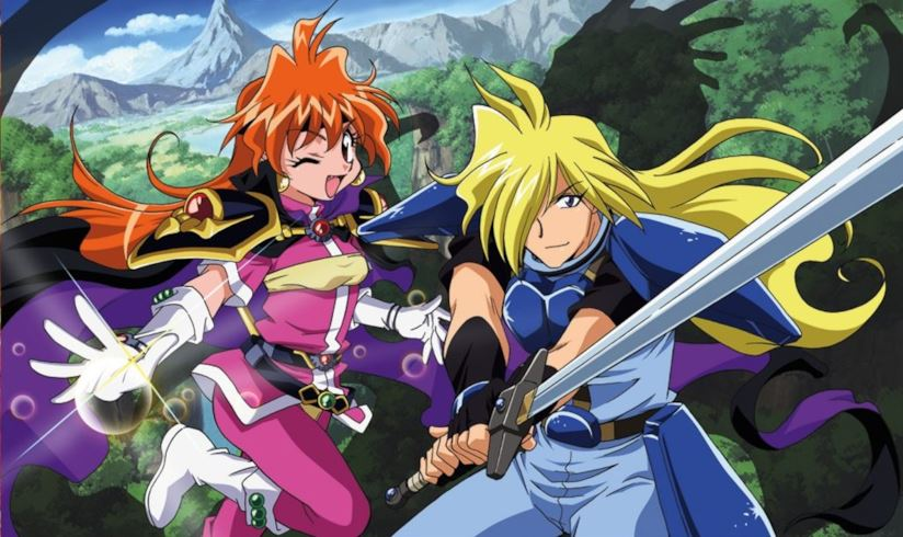 The Slayers – Un Incantesimo dischiuso tra i Petali del Tempo per Rina