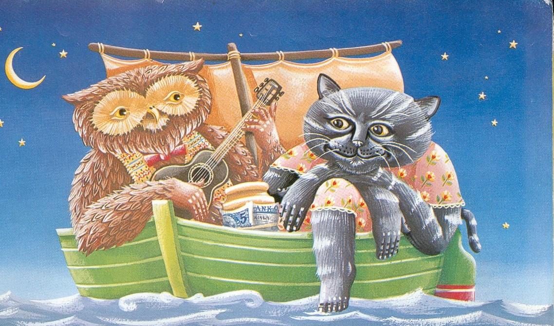 Il gufo e la gattina