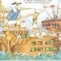 Una nave in mezzo al mare